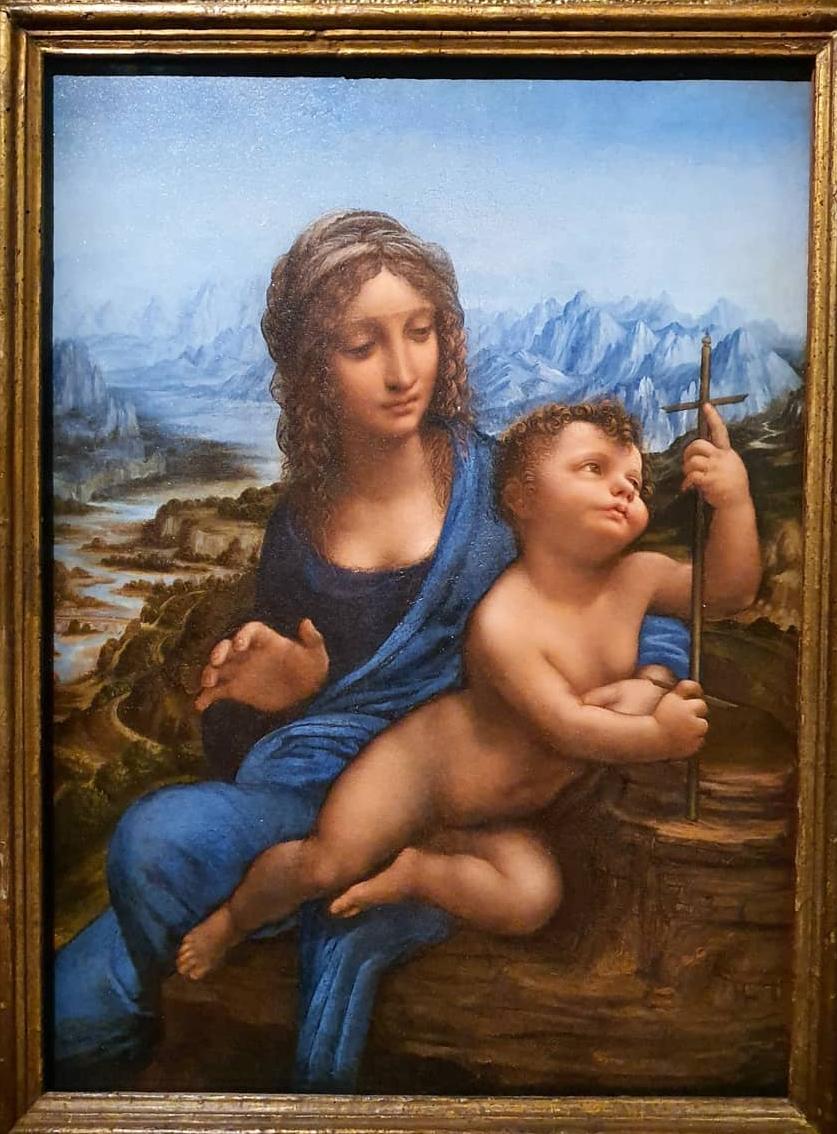 La Vierge au fuseau - Léonard de Vinci