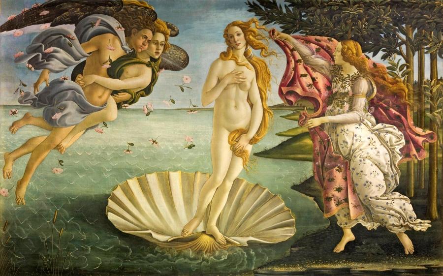 La Vénus - Boticelli - Mythologie - Edith Hamilton - Les Petites analyses - Johan Creeten