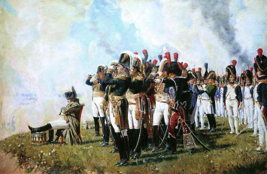 La guerre et la paix - Tolstoï - Napoléon à Borodino - Vassili Verechtchaguine - Les petites analyses - Johan Creeten
