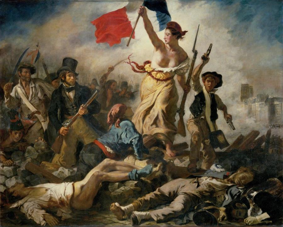 Candide - Voltaire - Les Petites Analyses - La Liberté guidant le peuple (Delacroix)